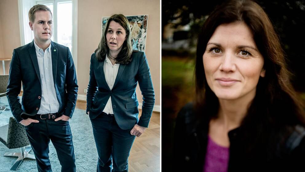 Åsa Romson, Gustav Fridolin, Jenny Madestam