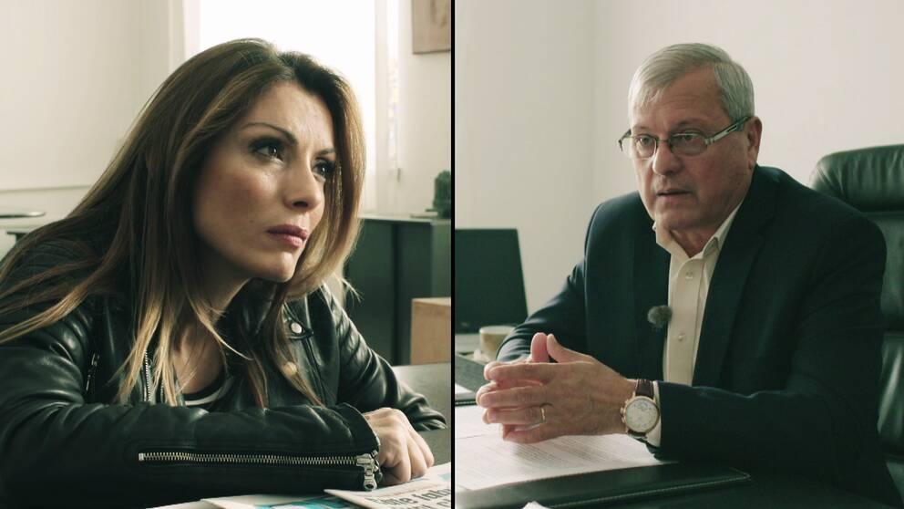 Alexandra Pascalidou intervjuar vice borgmästaren Alexandru Cunel