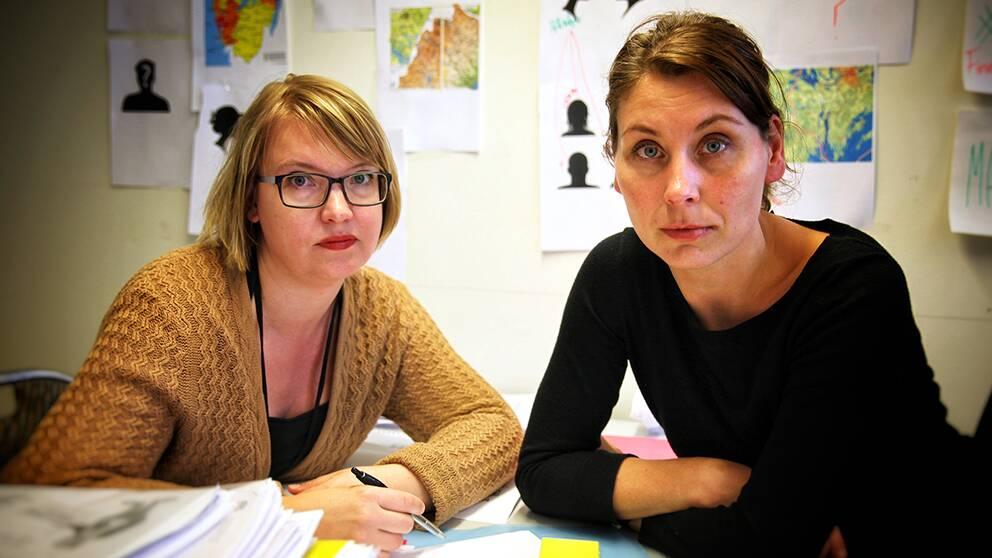 I granskningen gick reportrarna Marja Grill och Carolina Jemsby igenom hundratals rapporter.