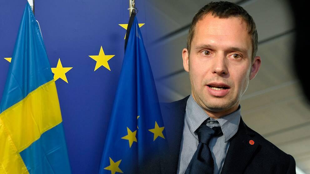 Jens Holm, riksdagsledamot för Vänsterpartiet, ledamot i EU-nämnden och miljöpolitisk talesperson.