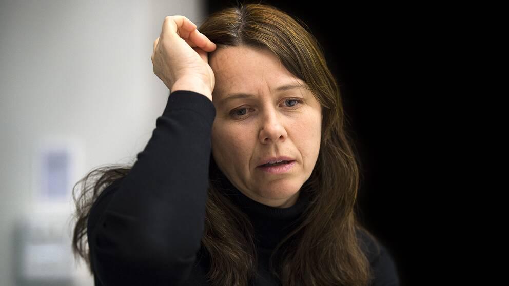 Åsa Romson, språkrör Miljöpartiet.