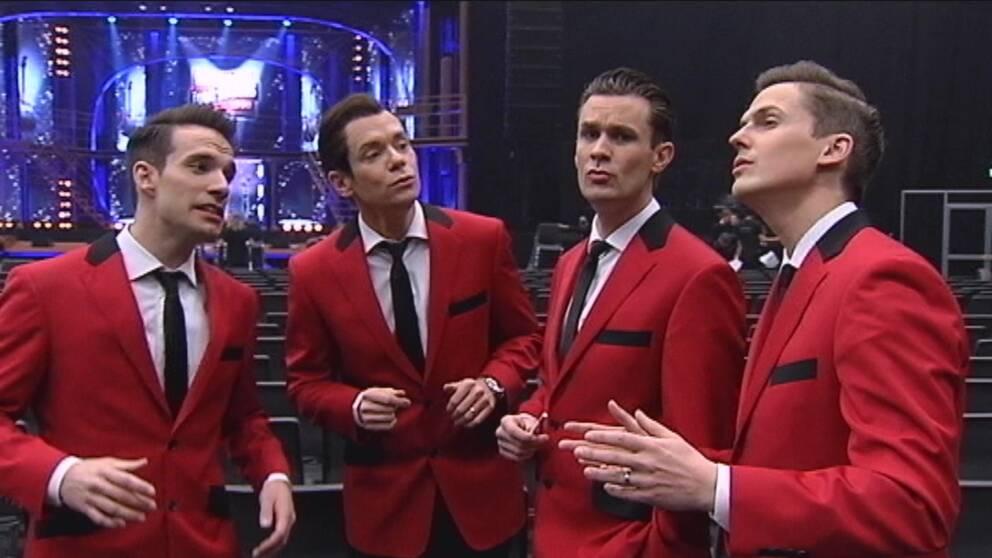 Sångare i musikalen Jersey Boys