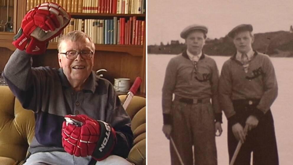 I januari 1946, sköt Sten-Olle Björn Frölundas första puck i kassen.
