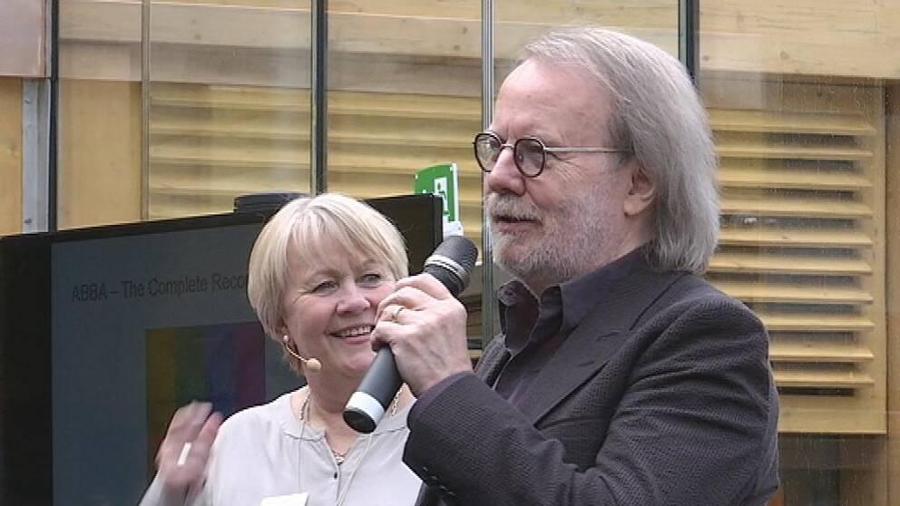 ABBA fortfarande populära, trots att det är många år sedan de stod på en scen.