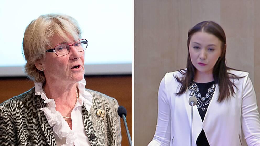 Anne-Marie Pålsson och Yasmine Larsson leder republikanska föreningen