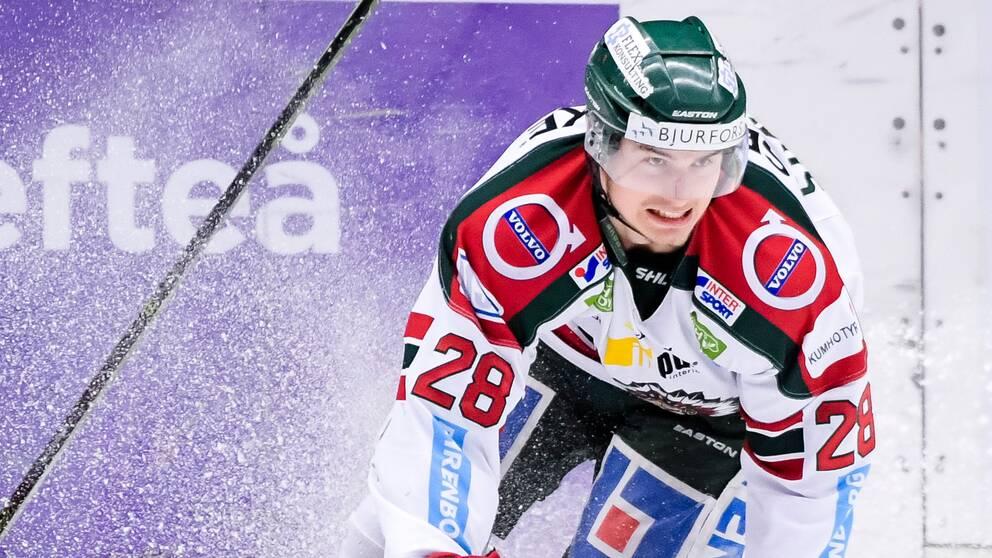 Johan Sundström fick Stefan Liv Memorial Trophy – priset som slutspelets bäste spelare.