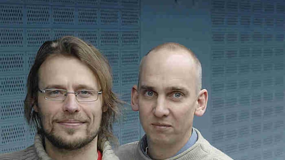 Sven Bergman och Fredrik Laurin.