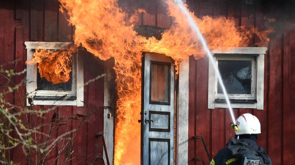 Personskador vid villabrand