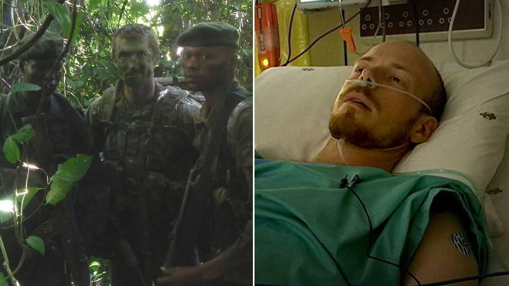 Svensk man skjuten av tjuvjagare i kongo kinshasa