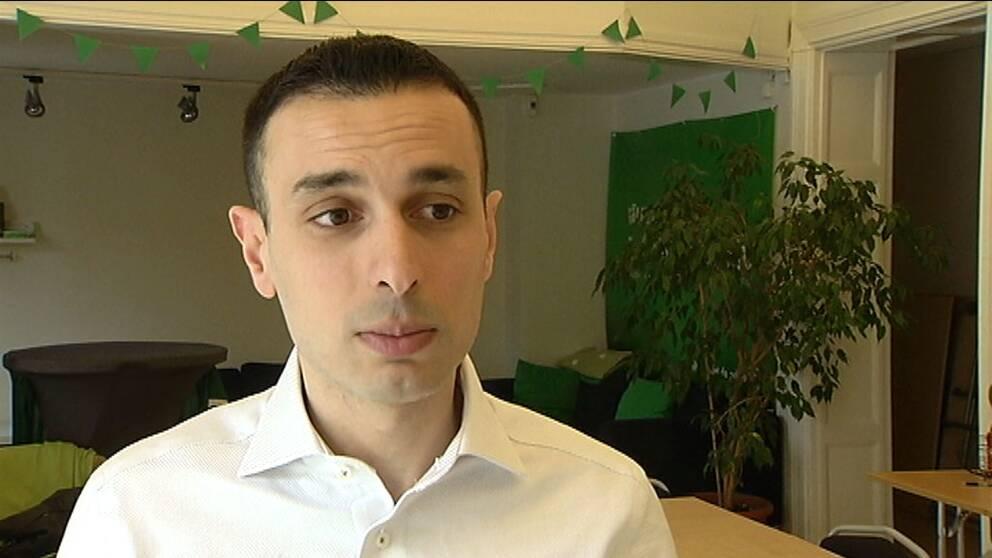 Miljöpartisten Bassem Nasr i Malmö.