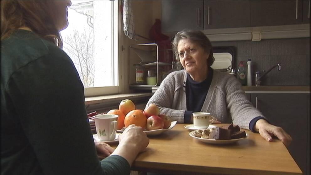Laila Aslo äter inte sötsaker efter att ha fått diagnosen diabetes.