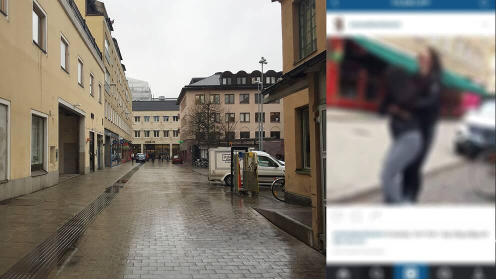 Påvel snickares gärnd Uppsala. Utsuddad bild från Instagram.