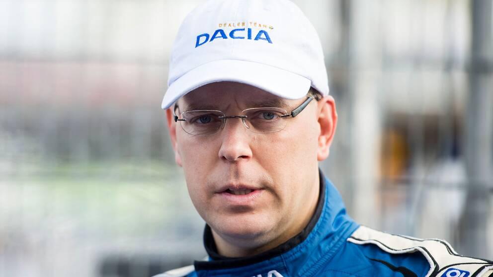 STCC-veteranen Mattias Andersson äldste föraren med sina 43 år.