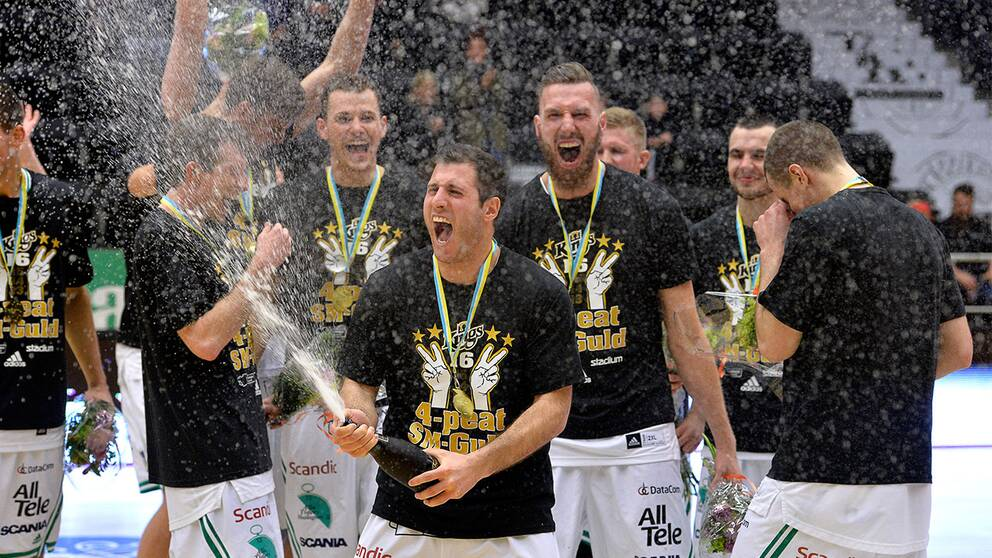 Södertälje Kings slog Norrköping Dolphins.