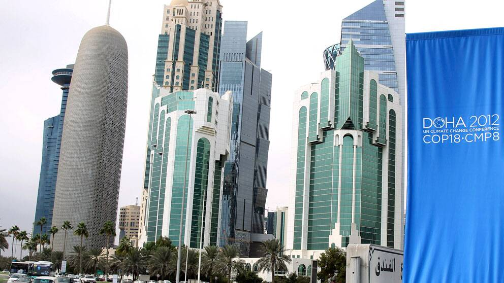 Qatar satsar genom att anordna miljökonferensen i Doha, som startade i måndags.
