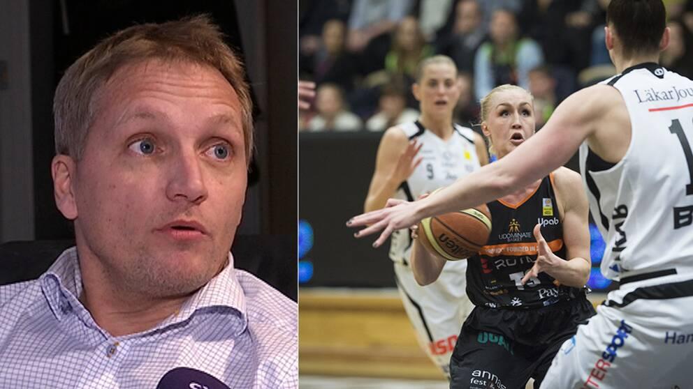 Peder Westerberg, styrelseordförande i Umeå basketbollklubb