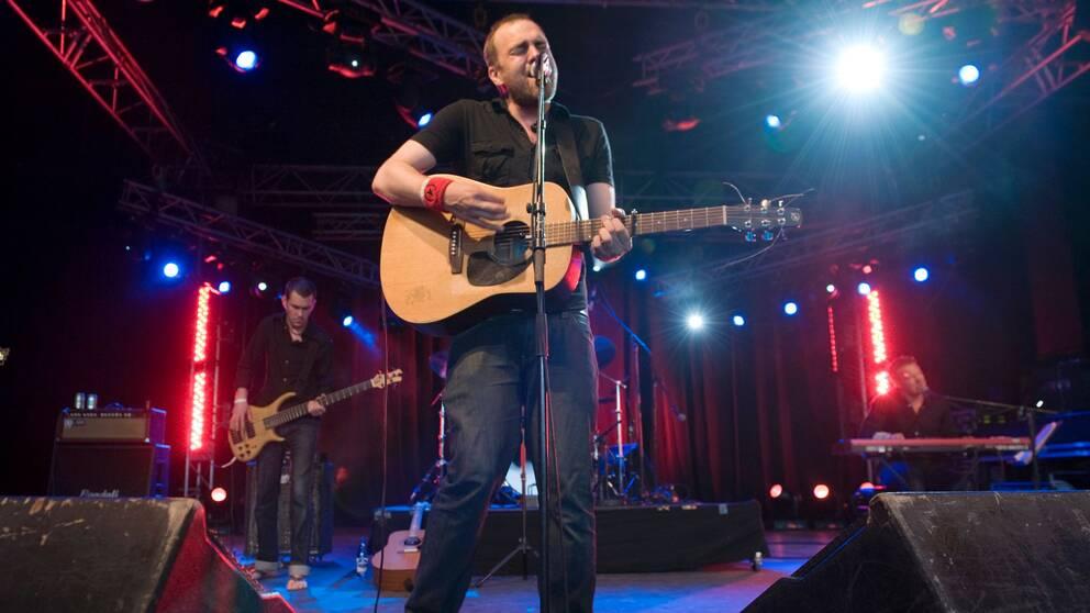 Stiko Per Larsson på Peace & Love 2009.