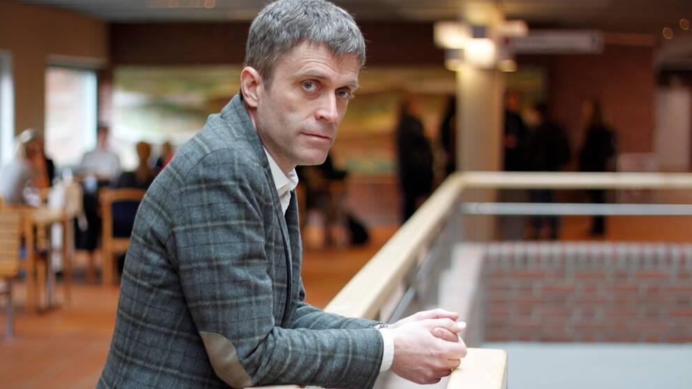 Per Holmberg, docent i nordiska språk på Göteborgs universitet