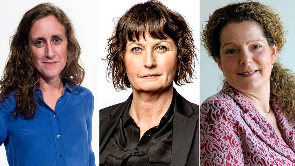 Hanna Stjärne, Sofia Olsson Olsén, Cilla Benkö