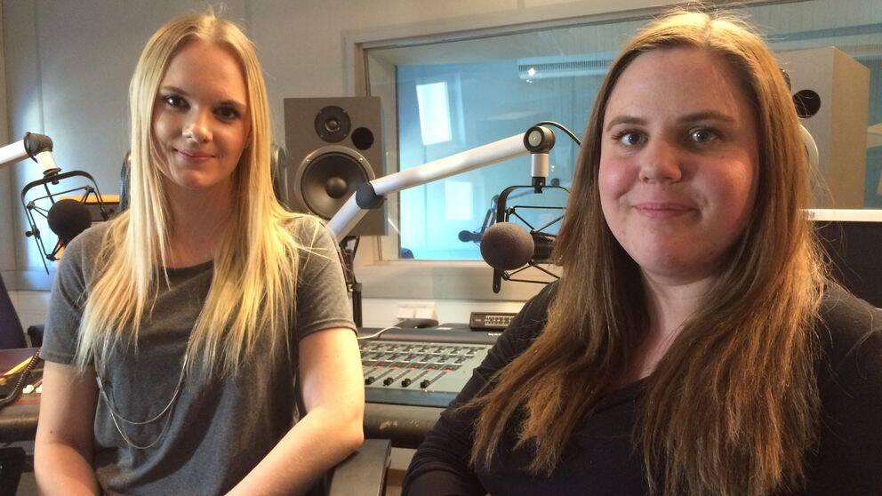 Amanda Karlsson och Linnéa Bohlin