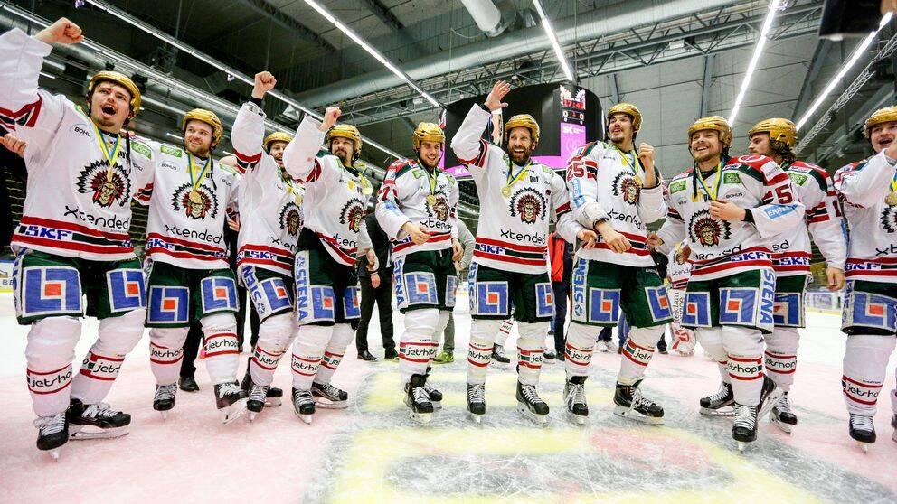 Frölunda mot Malmö i SHL-premiären.