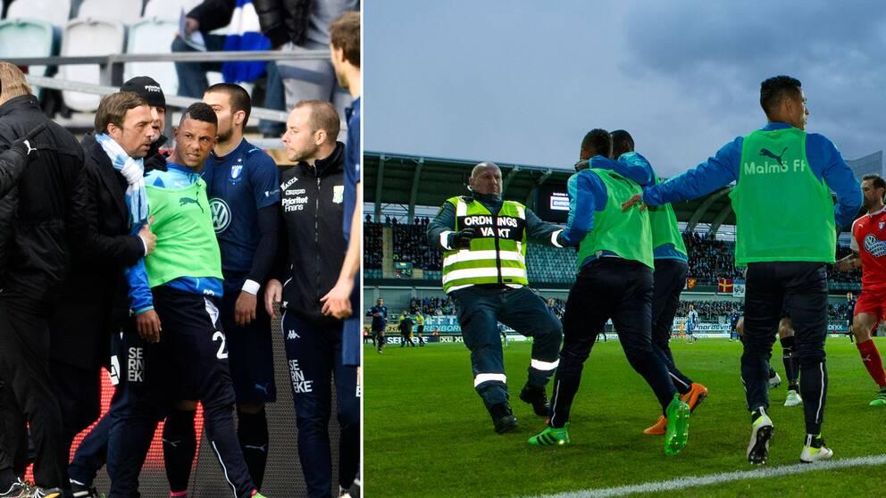 Malmö FF tilldöms segern efter skandalscenerna i Göteborg.