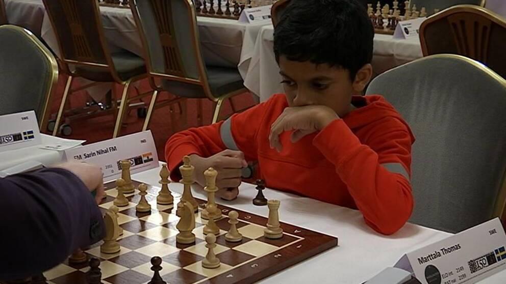 Nihal Sarin, 11-årig schackspelare