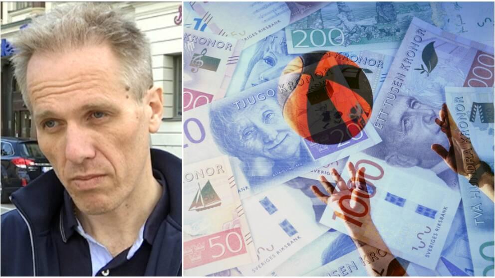 Montage: Lars Kallin och pengar