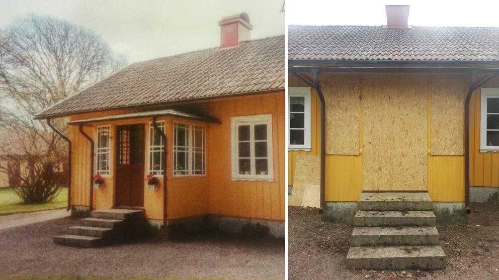 Stölden av glasverandan i Hangelösa är polisanmäld men eftersom polisen i nuläget inte hittat några spår är utredningen redan nerlagd.