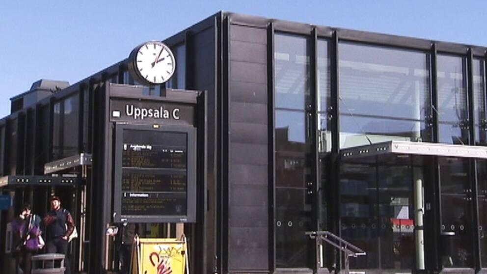 Resecentrum i Uppsala.