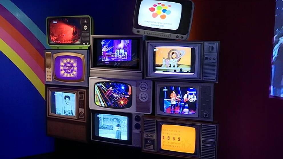 Ännu fler tv-apparater med tävlande.