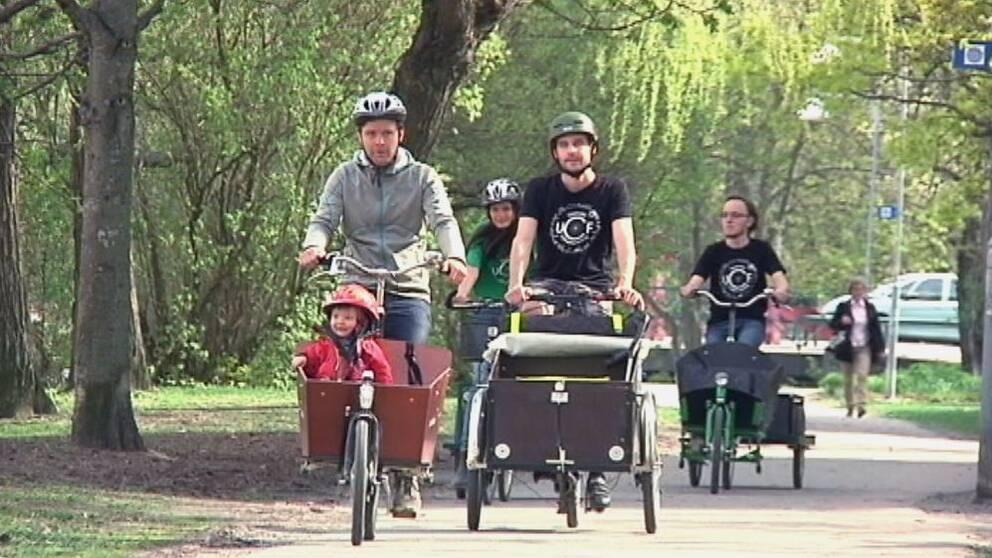 Cykelveckan är en del av Uppsala kommuns arbete med att bli Sveriges bästa cykelstad.