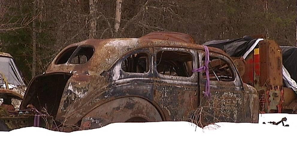Gamla bilar – ett kulturarv.