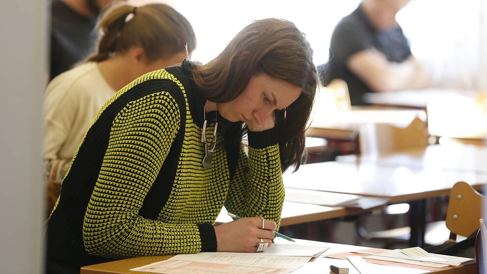 Inget storre fusk under hogskoleprovet