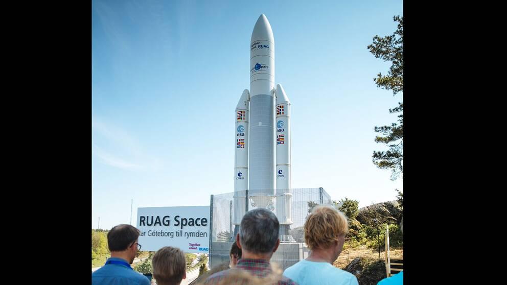 Miniversion av Ariane 5