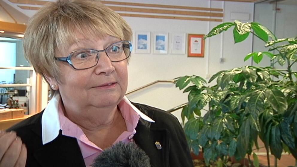 Landshövding Magdalena Andersson.