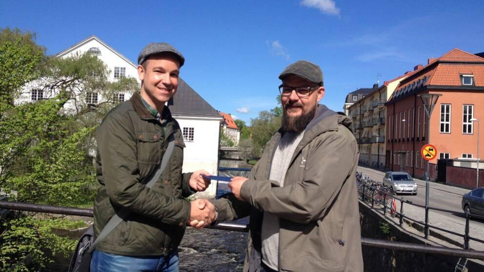 Lars Forsberg och Daniel Bremlin