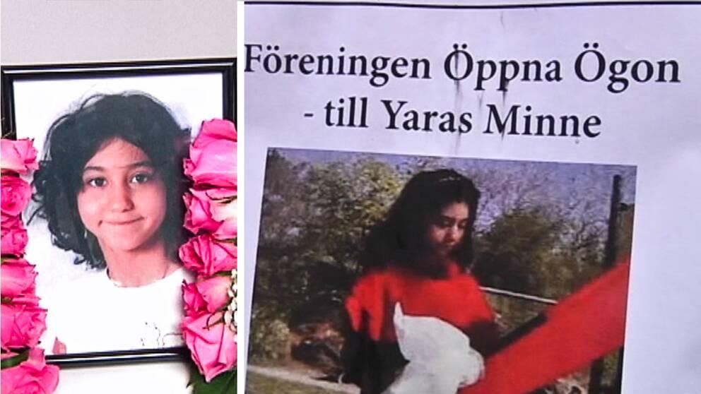 Yaras familj rasar mot stödgala