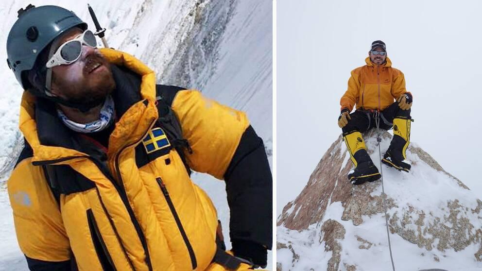 Förste skåningen på mt Everest