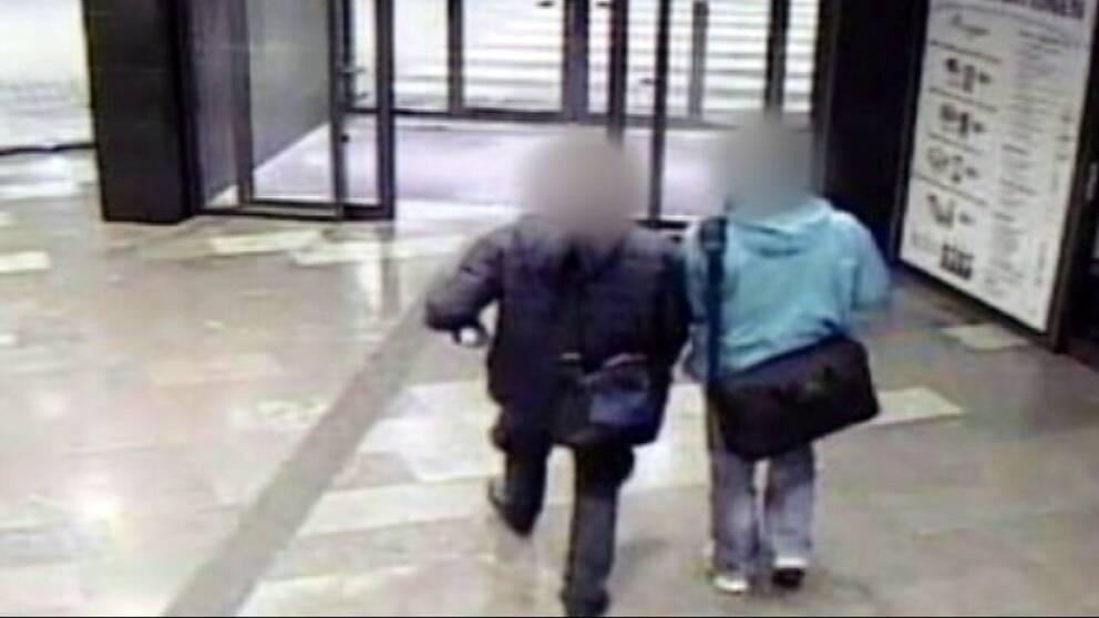 Bildtext: Väskorna som bröderna hade på sig på väg till Vallåkra har aldrig återfunnits av polis.