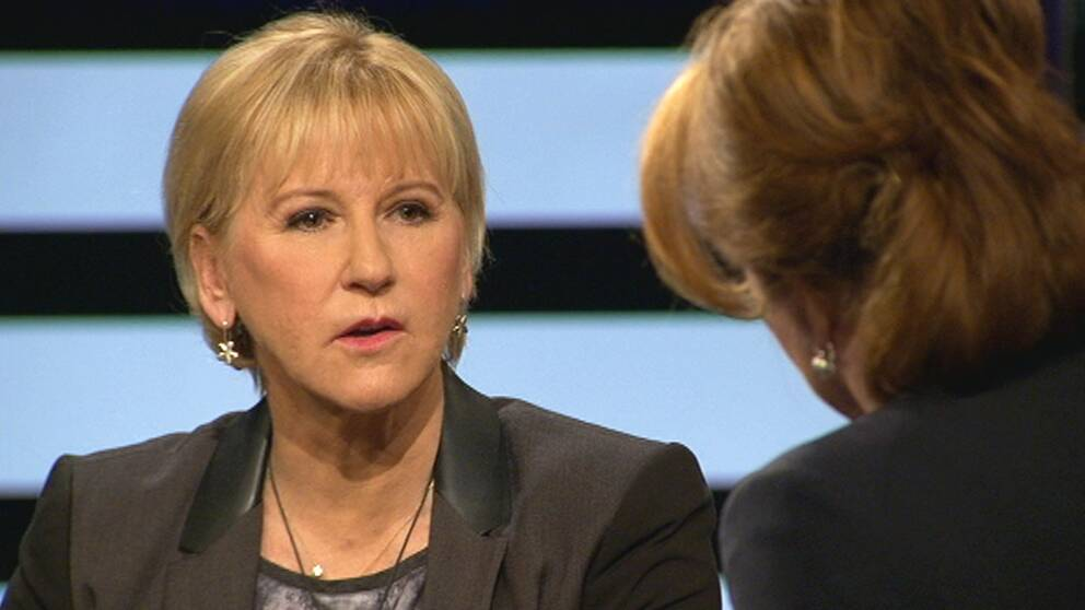 Utrikesminister Margot Wallström i SVT: Agenda.