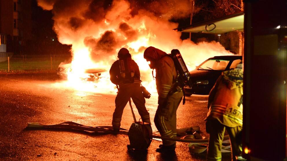 bilbränder