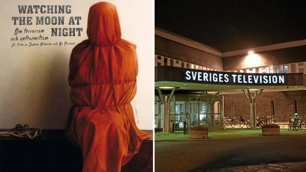 """Dokumentärfilmen """"Watching the Moon at Night"""" och SVT:s entré."""