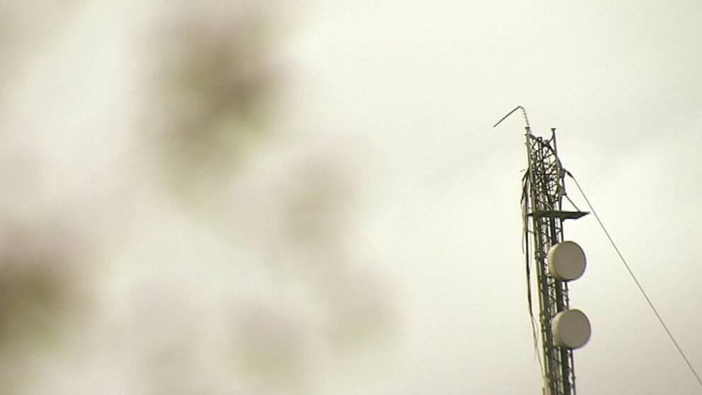Många hushåll drabbade efter sabotaget på radio- och tv-masten utanför Borås.
