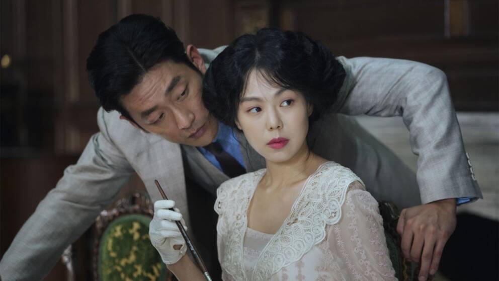 """Scen ur filmen """"Handmaiden""""."""
