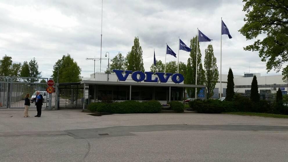 Volvo i Eskilstuna.