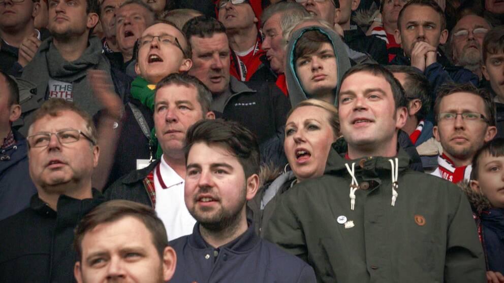 FC United of Manchester startades av supportrarna själva i protest mot den moderna fotbollen.