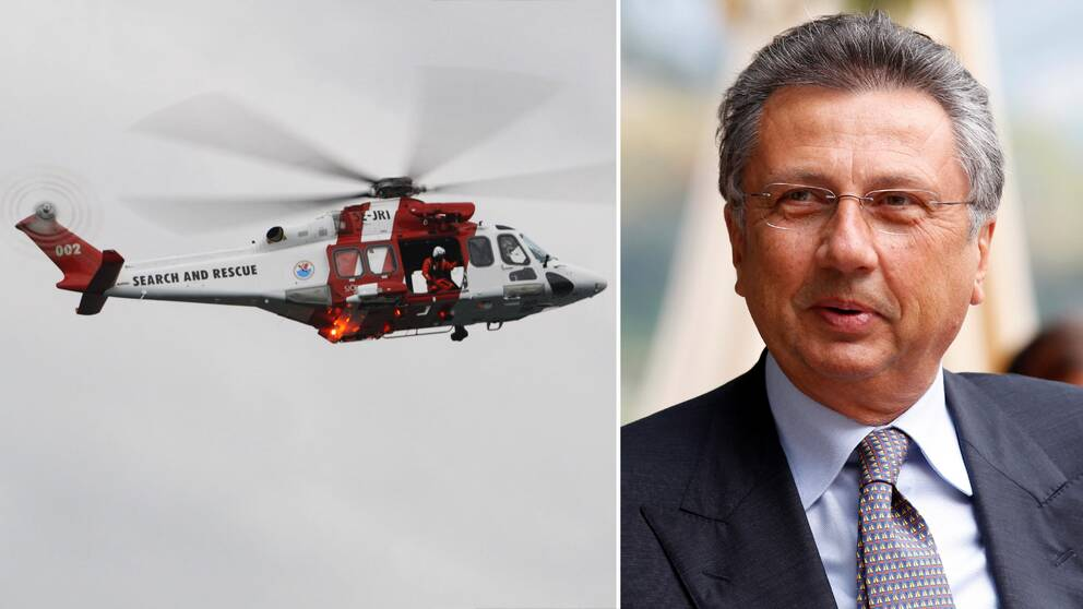 Giuseppe Orsi, chef för koncernens moderbolag Finmeccanica.
