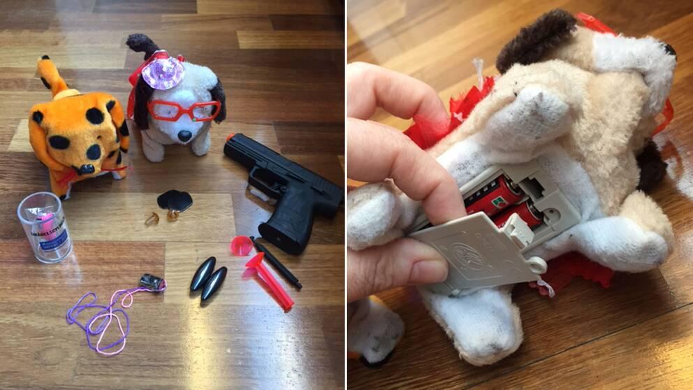 Leksaker som Konsumentverket varnar för.
