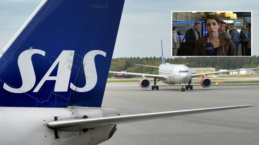 Arlanda och en på plats bild på Bromma